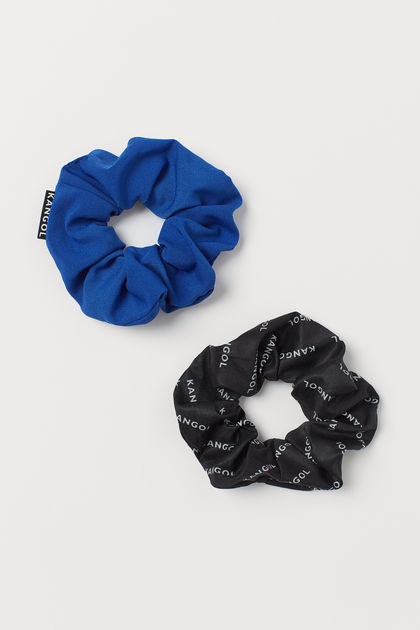 2-pack scrunchies